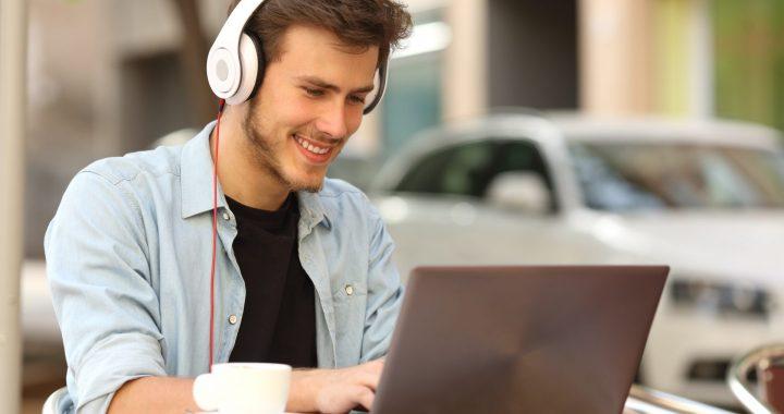 E-learning hangfelvétel
